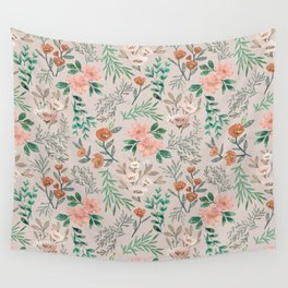 Springtime Pattern Wall Tapestry