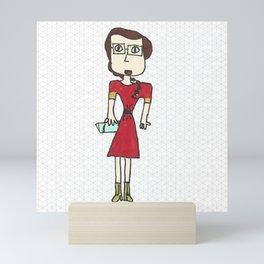 School time Mini Art Print