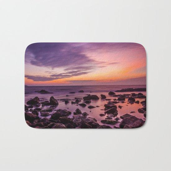 purple romance Bath Mat