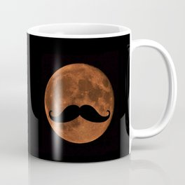 Mustache Moon Coffee Mug