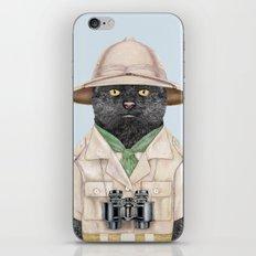 Safari Cat iPhone & iPod Skin