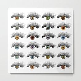 Hypnotic Eyes Metal Print