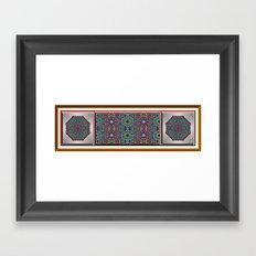 Southwestern Garden 2 Framed Art Print