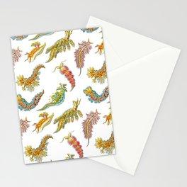 Ernst Haeckel Nudibranch Sea Slugs Tossed Stationery Cards