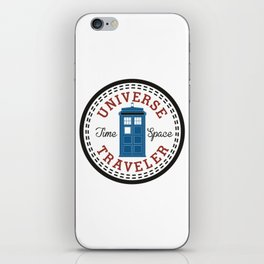 Doctor Who Converse Time Traveller iPhone Skin