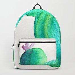 Watercolour Cactus Backpack