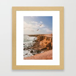 Chilean Coast Framed Art Print