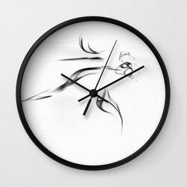 smoke 6 Wall Clock