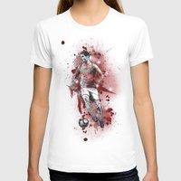 ronaldo T-shirts featuring Cristiano Ronaldo - Portugal by Hollie B