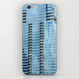 BLUE CHICAGO - CLEANING WINDOWS iPhone Skin