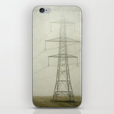 Pylons in the Mist iPhone & iPod Skin