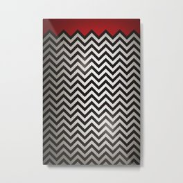 The Red Room Metal Print