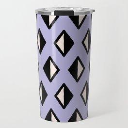 Diamond Pattern Lavender 961 Travel Mug