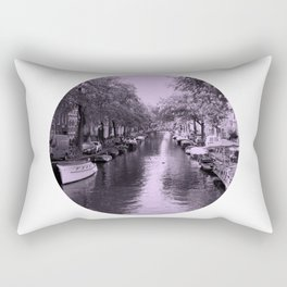 Amsterdam Canal #2 Rectangular Pillow