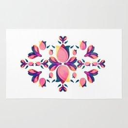 Tulip Pattern Rug