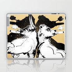 The Bull & Bear Laptop & iPad Skin