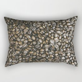 Coffee beans in Colombia Rectangular Pillow