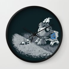 Here Ya Go Little Fella! Wall Clock