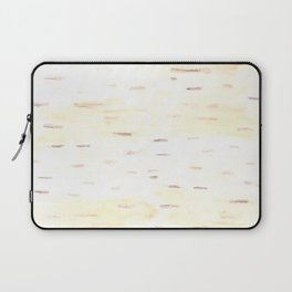 Birch Bark Watercolor Laptop Sleeve
