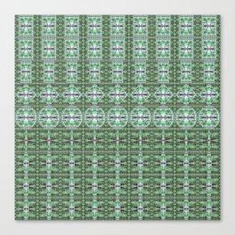 Designer Green Palms Environment Canvas Print