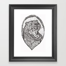 grizzly Framed Art Print