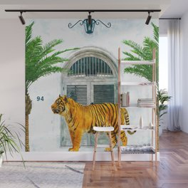 94 Tropical #painting #wildlife Wall Mural