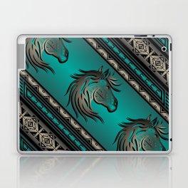 Horse Nation (Aqua) Laptop & iPad Skin