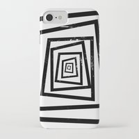 illusion iPhone & iPod Cases featuring Illusion by Janet Datu