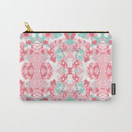 Arabella - abstract minimal pattern print art home decor trendy girly boho dorm college painting Carry-All Pouch