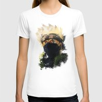 kakashi T-shirts featuring Grunge Copy Ninja by jpmdesign