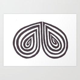 Kera Damo 025 Art Print