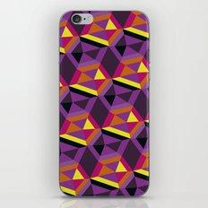 Chasing purple iPhone & iPod Skin