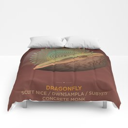 Full Crate Release Party - Dune Red Comforters