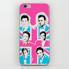 british men iPhone Skin