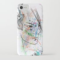anime iPhone & iPod Cases featuring Anime 3  by Del Vecchio Art by Aureo Del Vecchio