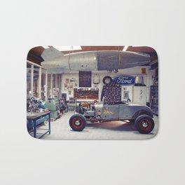 Hot Rod Garage Bath Mat