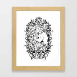 Cosmic Lover Framed Art Print