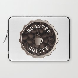 Roasted Coffee Sign Laptop Sleeve