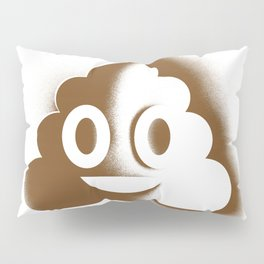 A Room with a Poop Pillow Sham