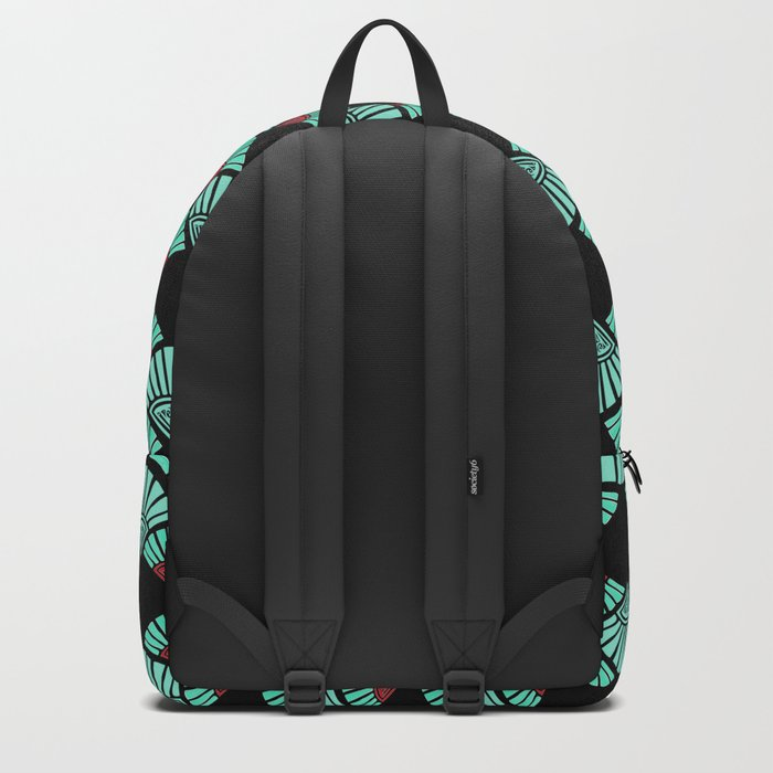 Turquoise Night Backpack
