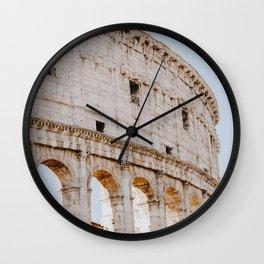 Colosseum / Rome, Italy Wall Clock