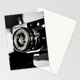 camera love b/w Stationery Cards