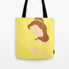 Belle - Beauty - Beauty and the Beast Tote Bag