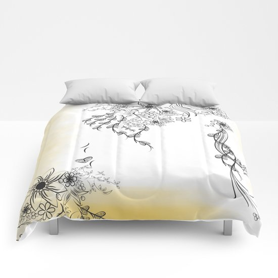Floral to Floral Comforters