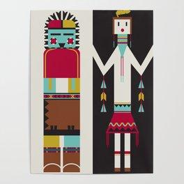 Kachina Dolls Poster