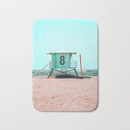 California Lifeguard Tower Bath Mat