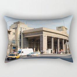 Roumania, Gara de Nord, Bucarest Rectangular Pillow