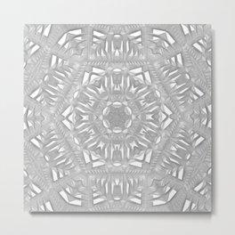 Biltmore Tile Kaledoscope Metal Print