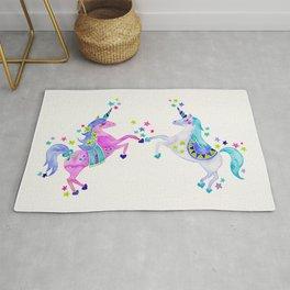 Pastel Unicorns Rug