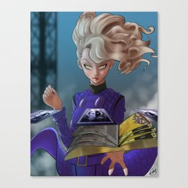 Margaret - The Empress Canvas Print